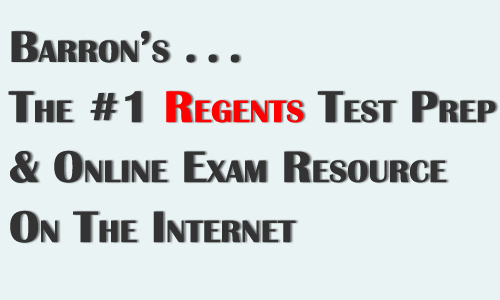Barrons is the #1 Regents online prep course